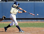 UC Davis' Evan Heptig at bat in a college baseball game between the Washington Huskies and the UC Davis Aggies in Davis, Ca., on Sunday, Feb. 17, 2013. Davis won 7-5 to finish their season opening series 3-1. .Photo by Cathleen Allison