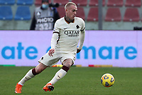 Rick Karsdorp of AS Roma in action during the Serie A football match between FC Crotone and AS Roma at stadio Ezio Scida in Crotone (Italy), January 6th, 2020. Photo Gino Mancini / Insidefoto