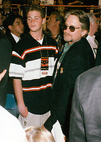 Michael Douglas & Cameron (son) 1997<br /> Photo By John Barrett-PHOTOlink.net / MediaPunch