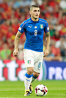 Italy's Marco Verratti during FIFA World Cup 2018 Qualifying Round match. September 2,2017.(ALTERPHOTOS/Acero)