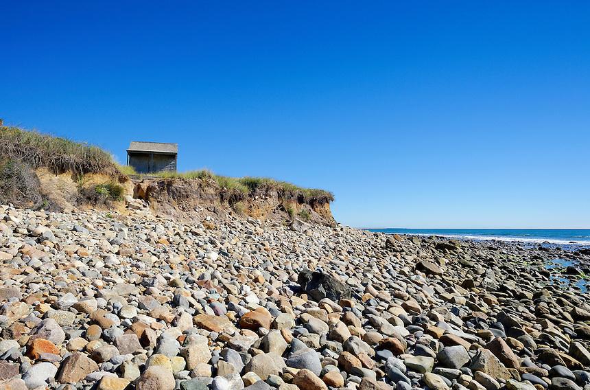 Rustic beach shack, Martha's Vineyard, Massachusetts, USA
