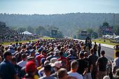 Crowd, fans, track walk