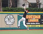 The Louisiana Diamondbacks Youth Baseball team practice at Greer Field-Turchin Stadium on the campus of Tulane University in preparation for an upcoming tournament.
