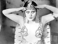 Theda Bara in Cleopatra