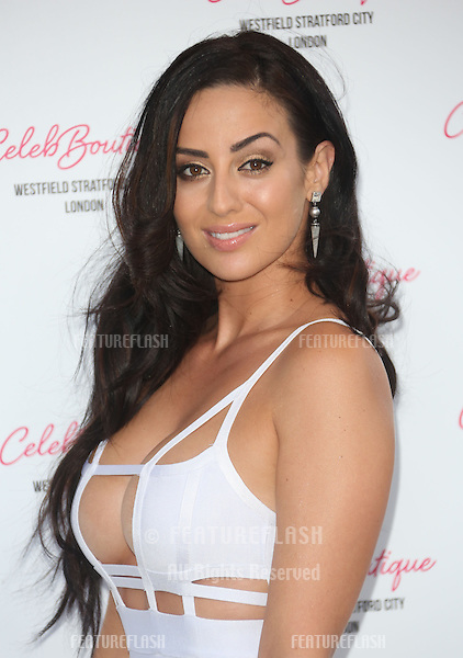 Maria Kouka at Celebboutique store launch party held at Westfield Stratford, London. 25/07/2013 Picture by: Henry Harris / Featureflash