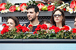 Spanish actor Fran Perea during Madrid Open Tennis 2016 match.May, 5, 2016.(ALTERPHOTOS/Acero)