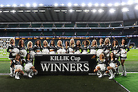 Cheerleaders after the Killik Cup match between Barbarians and Australia at Twickenham Stadium on Saturday 1st November 2014 (Photo by Rob Munro)