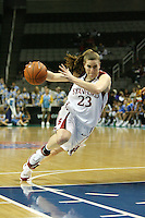 9 March 2008: Stanford Cardinal Jeanette Pohlen during Stanford's 78-45 win against the UCLA Bruins in the 2008 State Farm Pac-10 Women's Basketball tournament at HP Pavilion in San Jose, CA.