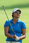 CHON BURI, THAILAND - FEBRUARY 19:  Yani Tseng of Taiwan plays her second shot on the 14th hole during day three of the LPGA Thailand at Siam Country Club on February 19, 2011 in Chon Buri, Thailand. Photo by Victor Fraile / The Power of Sport Images