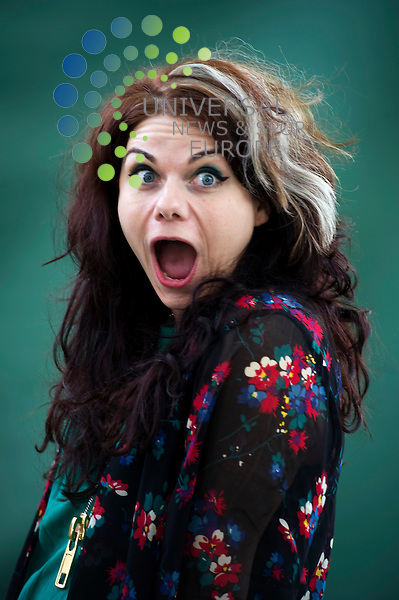 Author Caitlin Moran at the Edinburgh Book Festival, Edinburgh, Scotland, 14th August, 2011. Moran, one of hottest ticket authors at this years festival, sets out on a mission to reclaim feminism with her book, 'How to be a woman'..Picture:Scott Taylor Universal News And Sport (Europe) .All pictures must be credited to www.universalnewsandsport.com. (Office)0844 884 51 22.