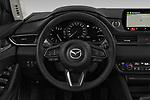 Car pictures of steering wheel view of a 2019 Mazda Mazda6 Skycrusie 5 Door Wagon Steering Wheel