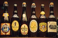 """Europe/France/Nord-Pas-de-Calais/59/Nord/Lille: Bières de la région lilloise à la brasserie """"Aux Moules"""" rue de Bethune"""