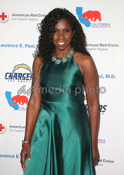 09 March 2018 - Los Angeles, California - Nicki Micheaux. American Red Cross Annual Humanitarian Celebration Honoring The LA Chargers at the Skirball Cultural Center. Photo Credit: F. Sadou/AdMedia