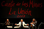 El Lebrijano en Festival de Cante de las Minas de La Union. La Union. Murcia.