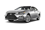 Stock pictures of low aggressive front three quarter view of 2017 Lexus ES 350 4 Door Sedan 2WD Low Aggressive