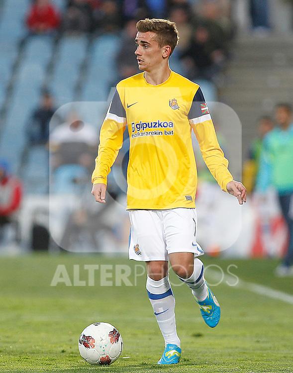 Real Sociedad's David Zurutuza during La Liga match.March 17,2012. (ALTERPHOTOS/Acero)