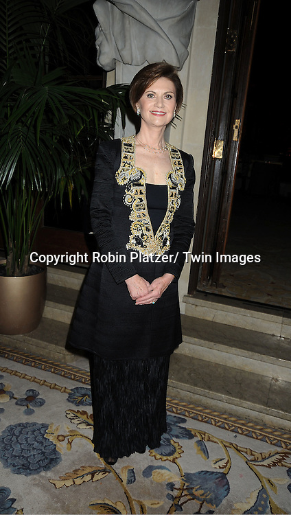Peg Breen attends The 2011 Living Landmarks Celebration presented by The New York Landmarks Conservancy on ..November 2, 2011 at The Plaza Hotel in New York City.  ..The honorees are Lewis B Cullman, Louise Kerz Hirschfeld, Angelia Lansbury, Danny Meyer and Regis Philbin.