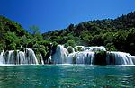Kroatien, Dalmatien, Krka Nationalpark: Wasserfall | Croatia, Dalmatia, Krka Nationalpark: Waterfall