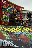 Frances O'Grady (Trades Union Congress, TUC General Secretary).<br />