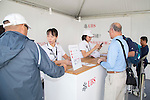 UBS information centre during the 58th UBS Hong Kong Golf Open as part of the European Tour on 08 December 2016, at the Hong Kong Golf Club, Fanling, Hong Kong, China. Photo by Vivek Prakash / Power Sport Images