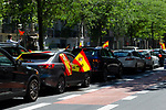 People protesting from their cars against government measures on May 05 in Madrid, Spain.(ALTERPHOTOS/ItahisaHernandez)