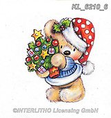 CHRISTMAS ANIMALS, WEIHNACHTEN TIERE, NAVIDAD ANIMALES, paintings+++++,KL6210/6,#xa# ,sticker,stickers