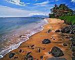 Moloka'i Beach, on Moloka'i Island, Hawaii