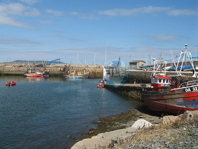 Dunlaoghaire Harbour in Co Dublin.Photo: Fran Caffrey/ Newsfile.
