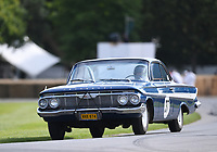 9th July 2021;  Goodwood  House, Chichester, England; Goodwood Festival of Speed; Day Two; Nick Padmore drives a Chevrolet Impala SS in the Goodwood Hill Climb