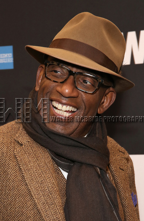 "Al Roker attends the Broadway Opening Night Performance  for ""Network"" at the Belasco Theatre on December 6, 2018 in New York City."
