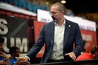 18-05-2021: Basketbal: Donar Groningen v Heroes Den Bosch: Groningen, Den Bosch coach Jean-Marc Jaumin