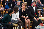 Teresa Perales, Maialen Chourraut, Lidia Valentin and Saul Craviotto attends to National Sport Awards 2016 at El Pardo Palace in Madrid , Spain. February 19, 2018. (ALTERPHOTOS/Borja B.Hojas)