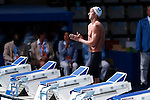 Fabien Gilot (FRA), JULY 31, 2013 - Swimming : Fabien Gilot  of France prepares to start in the men's 100m freestyle semifinal at the 15th FINA Swimming World Championships at Palau Sant Jordi arena in Barcelona, Spain. (Photo by Daisuke Nakashima/AFLO)