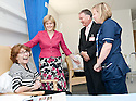 16/08/2010   Copyright  Pic : James Stewart.003_fvrh_nicola_sturgeon  .::  NHS FORTH VALLEY ROYAL HOSPITAL, LARBERT :: NHS FORTH VALLEY CHAIRMAN IAN MULLEN AND SENIOR CHARGE NURSE BARBARA ANN NIVEN INTRODUCE SCOTTISH CABINET SECRETARY FOR HEALTH & WELLBEING TO PATIENT IRENE ASHBY FROM LARBERT ::