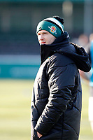Ealing Trailfinders RFC staff during the Championship Cup Quarter Final match between Ealing Trailfinders and Nottingham Rugby at Castle Bar , West Ealing , England  on 2 February 2019. Photo by Carlton Myrie / PRiME Media Images.