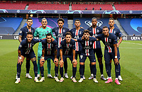 23rd August 2020, Estádio da Luz, Lison, Portugal; UEFA Champions League final, Paris St Germain versus Bayern Munich;  Paris Saint-Germain players pose for a team photo before the UEFA Champions League Final