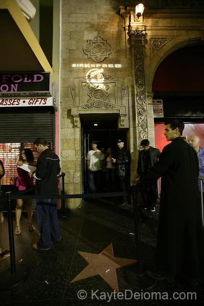 Cinespace Restaurant & Nightclub, Hollywood, CA