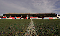 The main stand at Gravesend and Northfleet - Charlton Athletic Ladies vs West Ham Ladies - FA Cup at Gravesend and Northfleet - 14/01/07 - MANDATORY CREDIT: Rob Newell