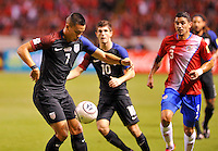 San Jose, Costa Rica - November 15, 2016: The U.S. Men's National team go down 0-1 to Costa Rica during Hexagonal round action in a World Cup Qualifying match at Estadio Nacional de Costa Rica.