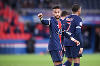 JOIE - FAIR PLAY - 10 NEYMAR JR (PSG)<br /> 02/10/2020<br /> Paris Saint Germain PSG - Angers<br /> Calcio Ligue 1 2020/2021<br /> Photo Philippe Lecoeur/Panoramic/insidefoto <br /> ITALY ONLY