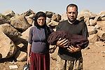 Life and death in Camp Newroz, Syria -- August 2014