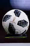 Adidas Telstar Ball for the International Friendly 2018 match between Spain and Argentina at Wanda Metropolitano Stadium on 27 March 2018 in Madrid, Spain. Photo by Diego Souto / Power Sport Images