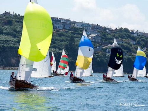 Mermaid Week 2019 at the Royal Cork YC at Crosshaven, when Darragh McCormack of Foynes YC retained the national title. Photo: Robert Bateman