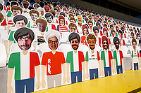 3rd September 2020; Autodromo Nazionale Monza, Monza, Italy ; Formula 1 Grand Prix of Italy, arrival day;  Cardboard
