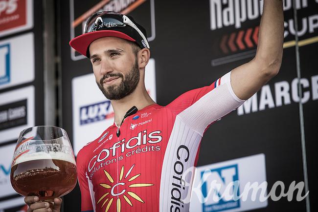Nacer Bouhanni (FRA/Cofidis) - winner of the GP Marcel Kint 2018 <br /> Kortrijk > Zwevegem 174.8km (BELGIUM)