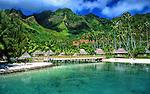 Resort in Moorea, French Polynesia