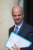French Education Minister Jean-Michel Blanquer arrives to the Elysee presidential palace for the weekly cabinet meeting on Wednesday, 28 June 2017 in Paris # CONSEIL DES MINISTRES DU 28/06/2017