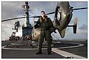 Porte hélicoptères Jeanne d'Arc<br /> Mer des Caraïbes<br /> Asp Julien Trabacchi