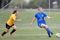 Lena De Ronde of Southern during the Handa Women's Premiership - Capital Football v Southern United at Petone Memorial Park, Wellington on Saturday 7 November 2020.<br /> Copyright photo: Masanori Udagawa /  www.photosport.nz