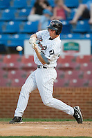 Winston-Salem designated hitter Cole Armstrong (33) takes his swings versus Myrtle Beach at Ernie Shore Field in Winston-Salem, NC, Monday, May 28, 2007.